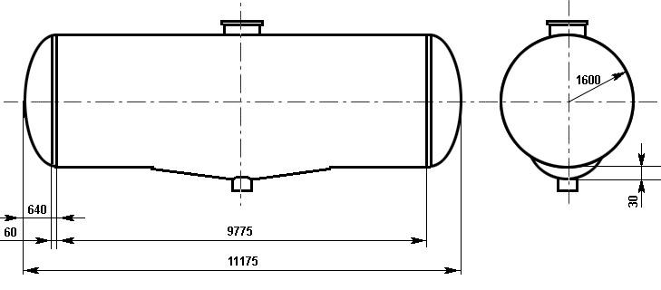 Таблица калибровки цистерны тип 101