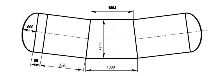 Таблица калибровки цистерны тип 105