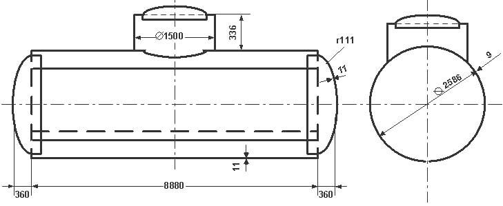 Таблица калибровки цистерны тип 18