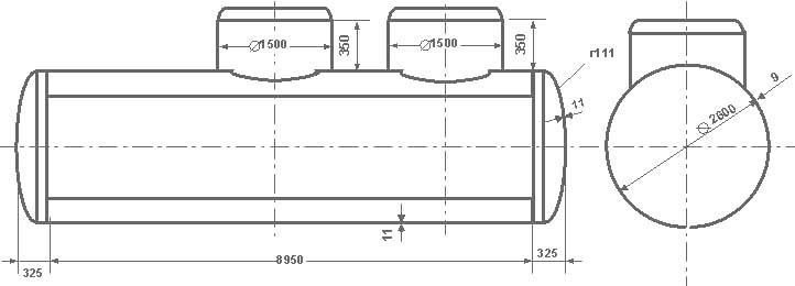 Таблица калибровки цистерны тип 24