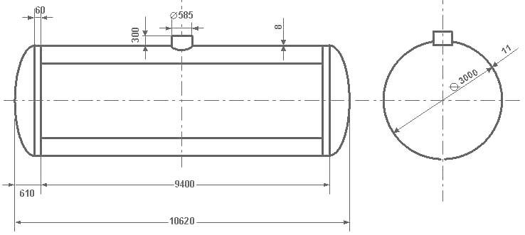 Таблица калибровки цистерны тип 53