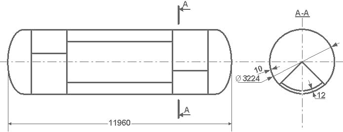Таблица калибровки цистерны тип 68