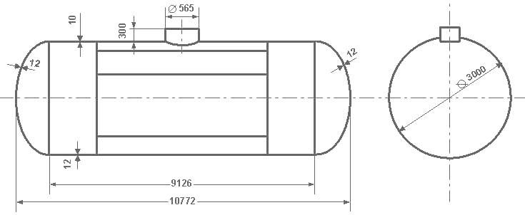 Таблица калибровки цистерны тип 72