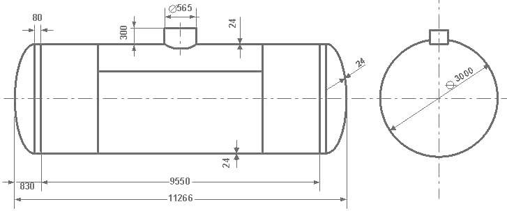 Таблица калибровки цистерны тип 73