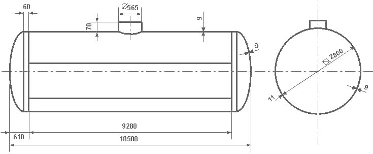 Таблица калибровки цистерны тип 76
