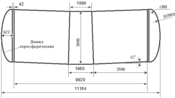Таблица калибровки цистерны тип 79