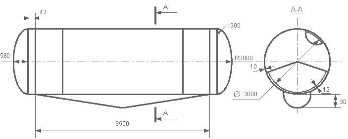 Таблица калибровки цистерны тип 81