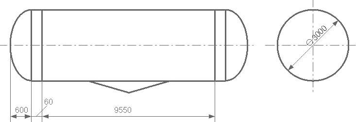 Таблица калибровки цистерны тип 85