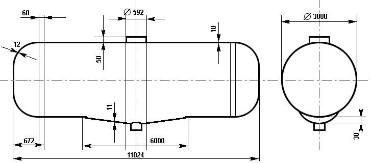 Таблица калибровки цистерны тип 89