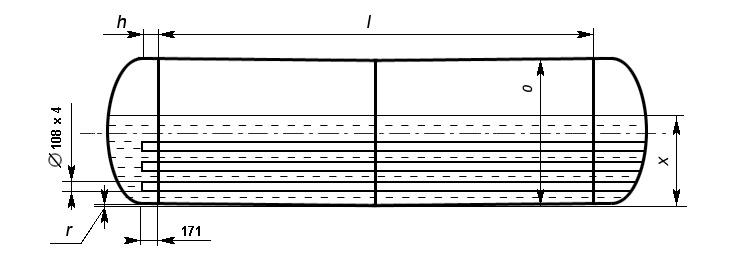 Таблица калибровки цистерны тип 95