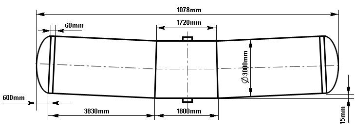 Таблица калибровки цистерны тип 99